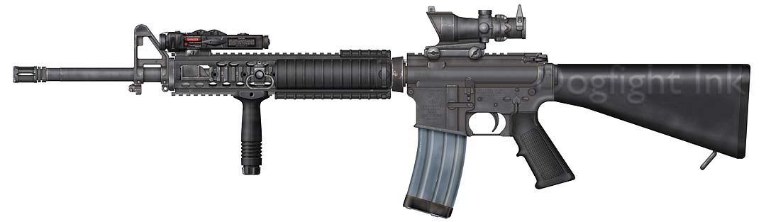 amor a primera vista M16A4