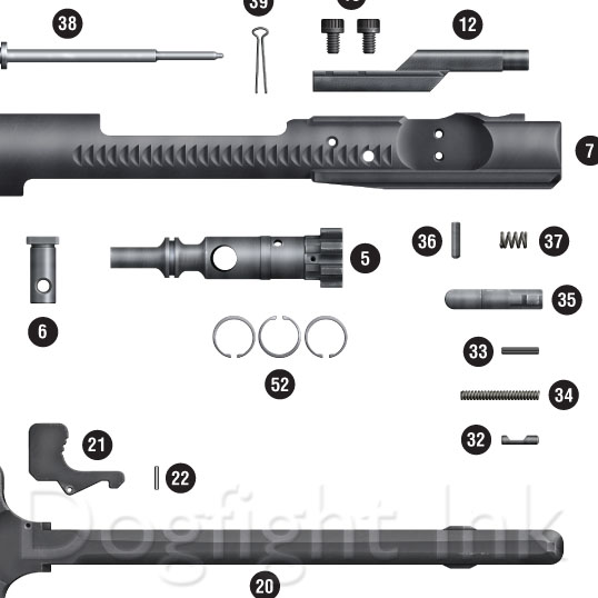 ar 15 exploded parts diagram rh dogfightink com ar 15 parts diagram pdf ar 15 parts diagram lower receiver