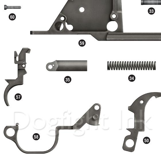 M1 Garand Parts Diagramrhdogfightink: M1 Garand Parts Schematic At Gmaili.net